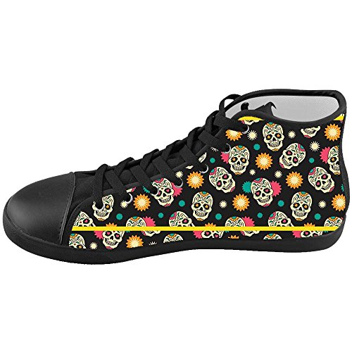Dalliy Flower Sugar skull Kids Canvas shoes Schuhe Footwear Sneakers shoes Schuhe C