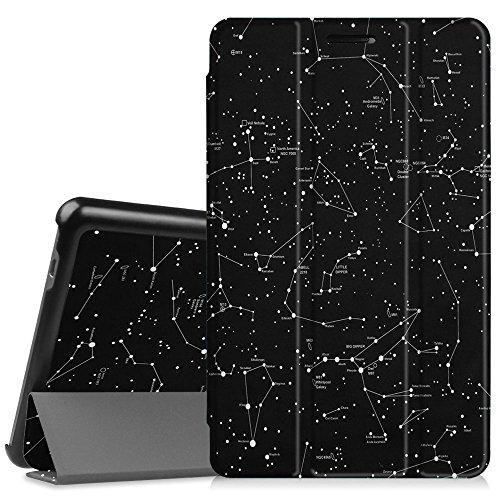 Fintie Huawei Mediapad T3 8 Hülle Case - Ultra Dünn Superleicht SlimShell Ständer Cover Schutzhülle Tasche mit Zwei Einstellbarem Standfunktion für Huawei T3 20,3 cm (8,0 Zoll), Sternbild