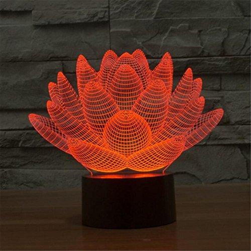 TT Touch Ladegerät 3D bunte Licht Vision Stereo Licht LED Illusion Licht -