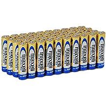 Maxell LR03 - Pack de 40 pilas alcalinas AAA, color dorado