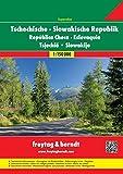 Freytag Berndt Autoatlanten, Tschechische Republik - Slowakische Republik - Maßstab 1:150 000