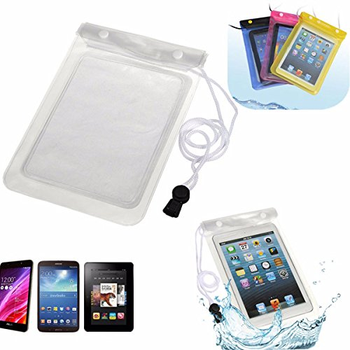 Waterproof Dry Bag Underwater Pouch Custodia Case Cover con Stripe per 7 inch Tablet Random (Stripes Pouch)