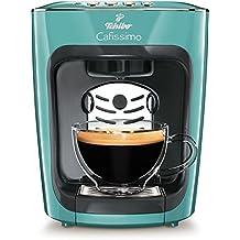 Tchibo Cafissimo Mini Kaffeekapselmaschine (für Kaffee, Espresso, Caffé Crema und Tee) türkis