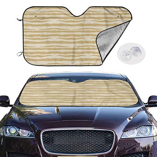 Dress rei Car Windshield Sun Shade Tree Bark Keep Your Vehicle Cool UV Sun Heat Reflector 51.2x27.5 Inchs -
