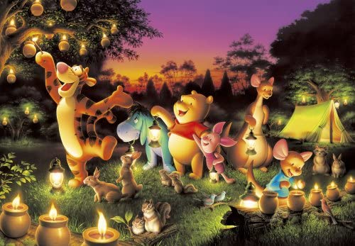 Candle party of 2000 Peace Forest D-2000-527 [jigsaw shiny] (japan import) | Design Attrayant
