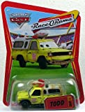 Disney / Pixar CARS Movie 1:55 Die Cast Car Series 4 Race-O-Rama Todd Pizza Planet Truck by Disney