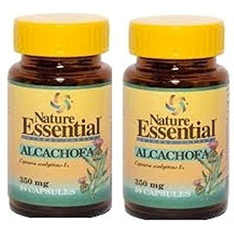 Alcachofa 350 mg 50 cápsulas. Nature Essential (Pack 2u.)