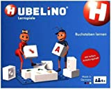 Hubelino 410016 - Lernspiel - Buchstaben Lernen - ab 4 Jahren (100% Kompatibel mit Duplo) - 85 Teile