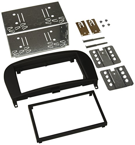 Scosche mz2351b 2005–2012 Mercedes Benz SL Aftermarket Stereo Installation Kit - Iso-din Trim-ring