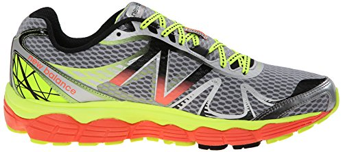 New Balance M880 D V4, Chaussures de running homme - Multicolore (Sy4 Silver/Yellow)