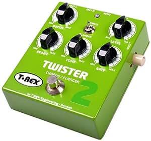 T-Rex Twister 2 Pédale d'effet chorus/flanger Vert
