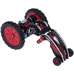 Juguetrónica Mad Racers Snake, Coche Alta Velocidad transformable Color Rojo y Azul JUG0292