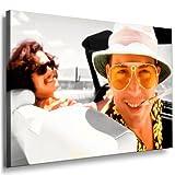 Boikal/Leinwand Bild Fear and Loathing In Las Vegas Film Leinwanddruck, Kunstdruck fm19 Wandbild 70 x 50 cm