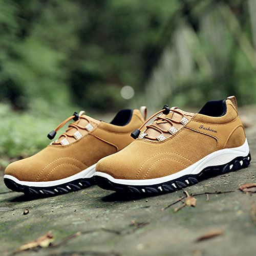 scarpe e uomo trekking traspiranti da scarpe per da ginnastica Chnhira morbide Yellow sport arrampicata ginnastica da dIwOTdq