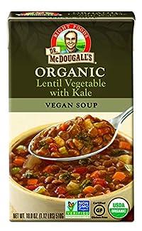 Dr. Mcdougall'S - Organic Lentil Vegetable with Kale Soup 18 Oz. 179524