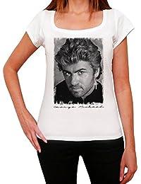 George Michael Young Melrose Tshirt, T-Shirt Femme, manche courte, cadeau
