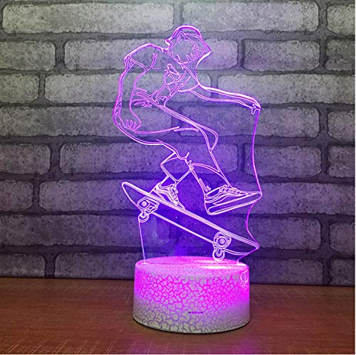 Creative Product Gift 3D Lamp Led Table Bedroom Decoration Air Small Night Light Led Usb Kids Lamp