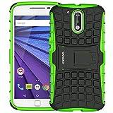 Moto G4 Hülle,Schutzhülle Handys Schutz für Moto G4/G4 Plus (5.5 Zoll) (Grün)