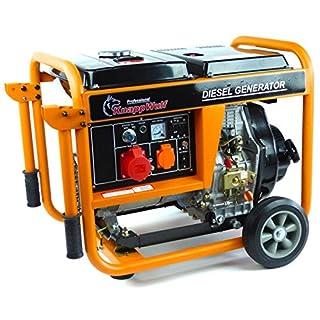 Générateur de courant diesel Knapp Wulf KW5500-3 5000W