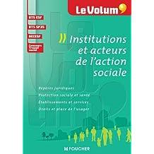Le Volum' Institutions et acteurs de l'action sociale