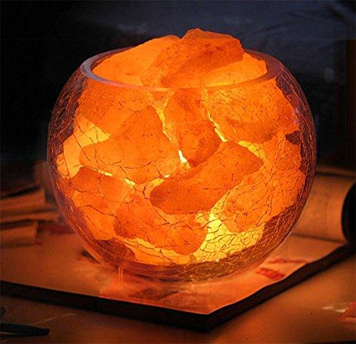 GBT Natürliche Gesundheit Kristall Salz Lampe Dimmable Kreative Schreibtisch Lampe Strahlung Schutz Anion Salz Kristall Lampe (Led-Leuchten, Warmes Licht, Weißes Licht, Kronleuchter, Innenbeleuchtung, Außenleuchten, Wandleuchten) (Freie Shampoo Salz)