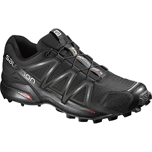Salomon Herren Speedcross 4 Traillaufschuhe black/black metallic