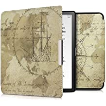 kwmobile Kobo Forma Cover - Custodia a Libro in Pelle PU - Flip Case per eReader - Copertina Protettiva per Kobo Forma