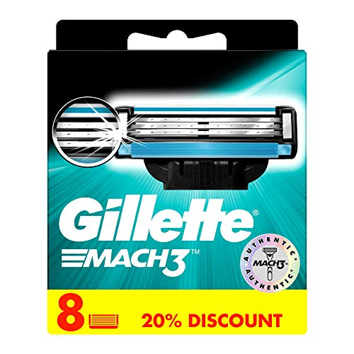 Gillette MACH3 Klingen 8er