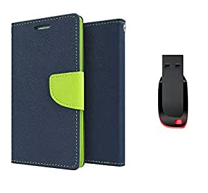 TOS Premium combo of TOS Flip cover and 32GB Pendrive for Nokia X