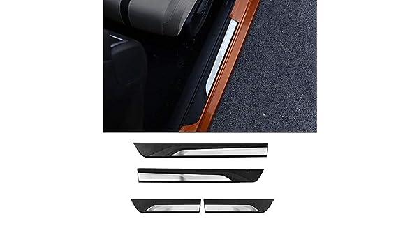 FidgetKute Car Door sills Guards Plates 4 pcs For Honda Civic 2016 2017 2018
