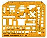 Linograph Architect s Drafting und Design Schablone Schablone Technische Zeichnung