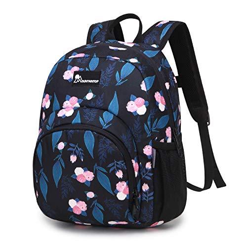 Mountaintop 5L Kinderrucksack Kleinkind Rucksack Kindergartentasche mit Brustgurt für Mädchen Jungen, 23 x 12 x 30CM