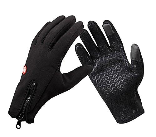 Touchscreen Handschuhe Outdoor Sport Damen Fahrradhandschuhe Winddicht und Touchscreen geeignet Perfekt für Herbst oder Frühling