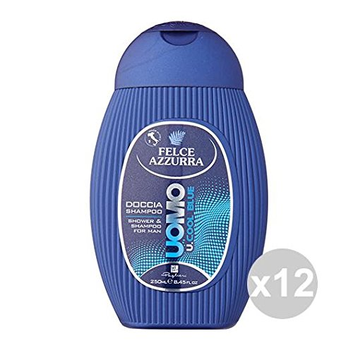 douche Shampoings homme cool blue 2 in 1 corpo e capelli 250 ml