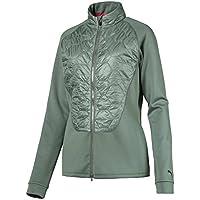 Puma Damen 576143 Women's Dassler Pwr Warm Jacket, Small, Laurel Wreath Jacke