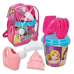 Disney - Mochila playa princesas Cubo con accesorios, 18 cm(48211)