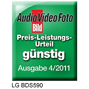 LG BDS590 Netzwerk 3D Blu-ray Player (3D Blu-ray