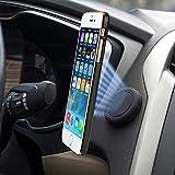 Support Téléphone Voiture Magnétique Adhesif Sticker Brainwizz - Fixation sur Tableau de Bord et toutes surfaces planes - Rotation à 360 Degrés pour iPhone 7, iPhone 6, et autres Smartphones