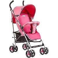 SCJ Carrito para niños con Carrito de Aluminio, Silla de Ruedas Plegable y Liviana,