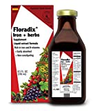 Flora, Floradix, Iron + Herbs Supplement, Liquid Extract Formula, 8.5 fl oz