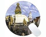 Yanteng Life Quotes Gaming Round Mouse Pad, l'architettura Oggi Non Cammina, dovrà Correre Domani Round Mouse Pad