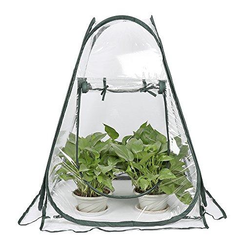 Lulalula - Mini serra pop up, in PVC, per interni, esterni, giardino,...