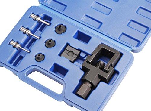 Kit de disjoncteur et rivetage chaîne moto 8 pcspas cher