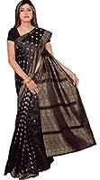 Bollywood Sari Kleid Schwarz CA108