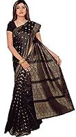 Indian Bollywood Sari Negro CA108