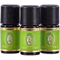 PRIMAVERA LIFE Teebaumöl 5ml + Lavendel fein 5ml + Pfefferminze 5ml Aromatherapie - Set preisvergleich bei billige-tabletten.eu