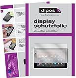 Amazon Fire HD 10 2017 Modell Schutzfolie - 2x dipos Displayschutzfolie Folie klar
