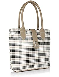 Fargo PU Women's Handbag (White_FLFG-04)