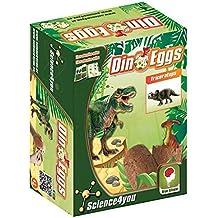 Science4you - Dino Eggs - Triceratops - huevo de dinosaurio - juguete científico y educativo