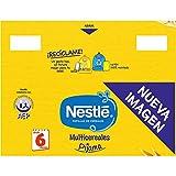 Nestlé Papilla Multicereales Pijama - Alimento Para bebés - Paquete de 6x500 g - Total: 2.5kg